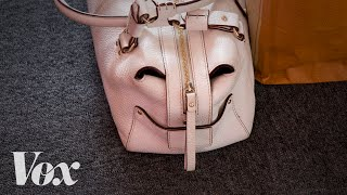 Why you're seeing a face in this purse