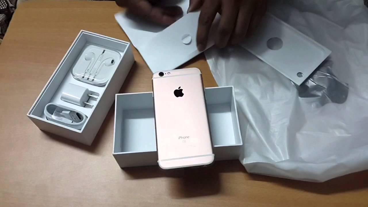 First Iphone 6s Review In India Rose Gold 128 Gb Hindi Youtube