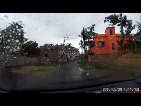 Barrackpore : Patulia via Ruiya Town Towards  Kalyani Expressway - Dash Cam Video 1080p 60fps
