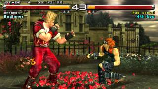 Tekken 5 gameplay on PCSX2