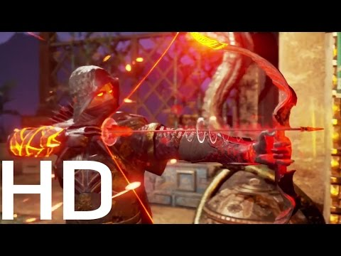 ASHES OF CREATION (New Open World MMORPG Ninja Game) - Cinematic Trailer  2018