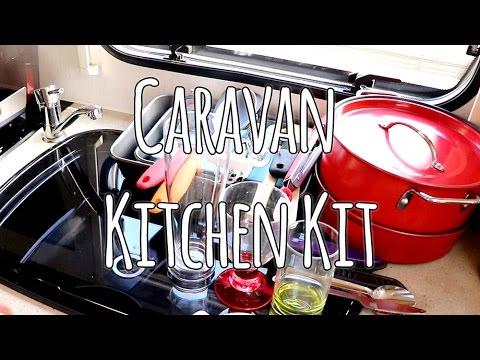Essential Caravan Kitchen Equipment