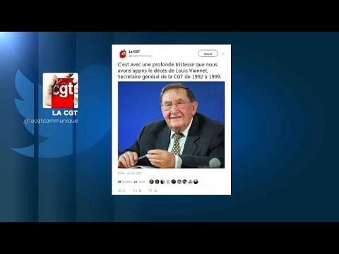 euronews (en français): Décès de Louis Viannet, ancien leader de la CGT