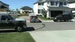 Grant's blower car 5  64 comet  BOSS 351 cleveland 871 blower