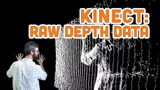 12.3: Raw Depth Data - Point Clouds and Thresholds - Kinect and Processing Tutorial