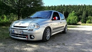 Renault Clio 2 RS 2.0 16v - Miltek Exhaust - Pure sound + Onboard