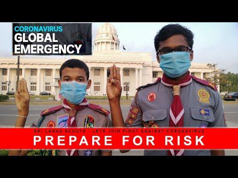 Sri Lanka Scouts Prepare for Risk - Lets Join Fight Against Deadly Coronavirus