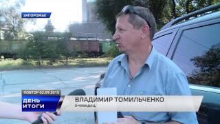 В Запорожье маршрутка с людьми врезалась в стоящий грузовик(Документальний фільм TV5