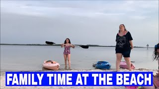 FAMILY TIME AT THE BEACH (HENRIETTES FIRST TIME)