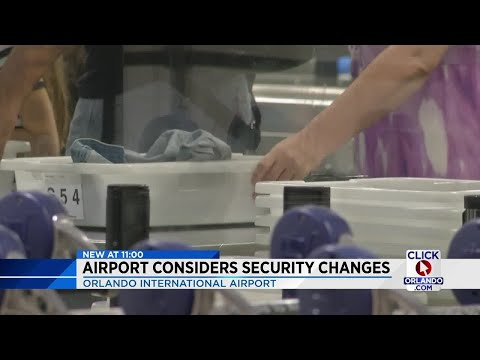Orlando International Airport considers security changes