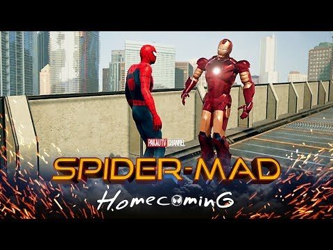 SpiderMan: Homecoming Spoof Ep.1  Hindi Comedy Video  Pakau TV Channel