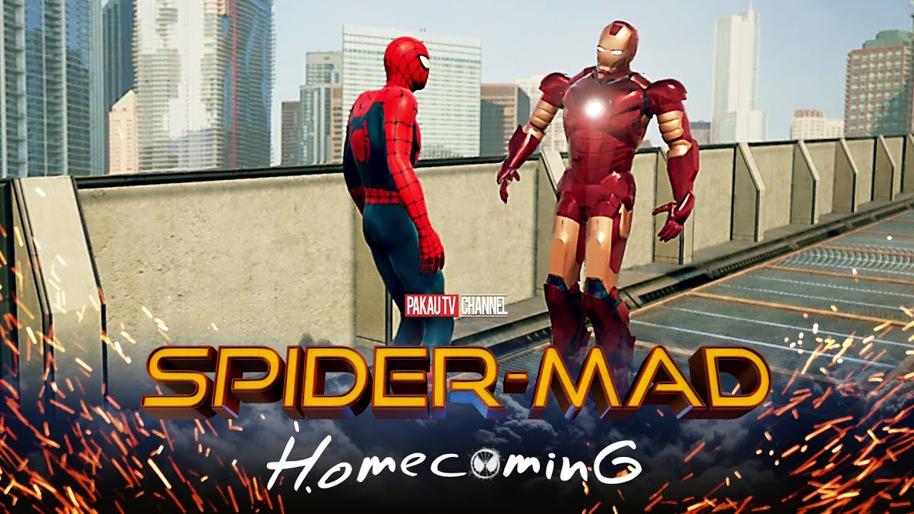 spider-man: homecoming spoof ep.1 | hindi comedy video | pakau tv