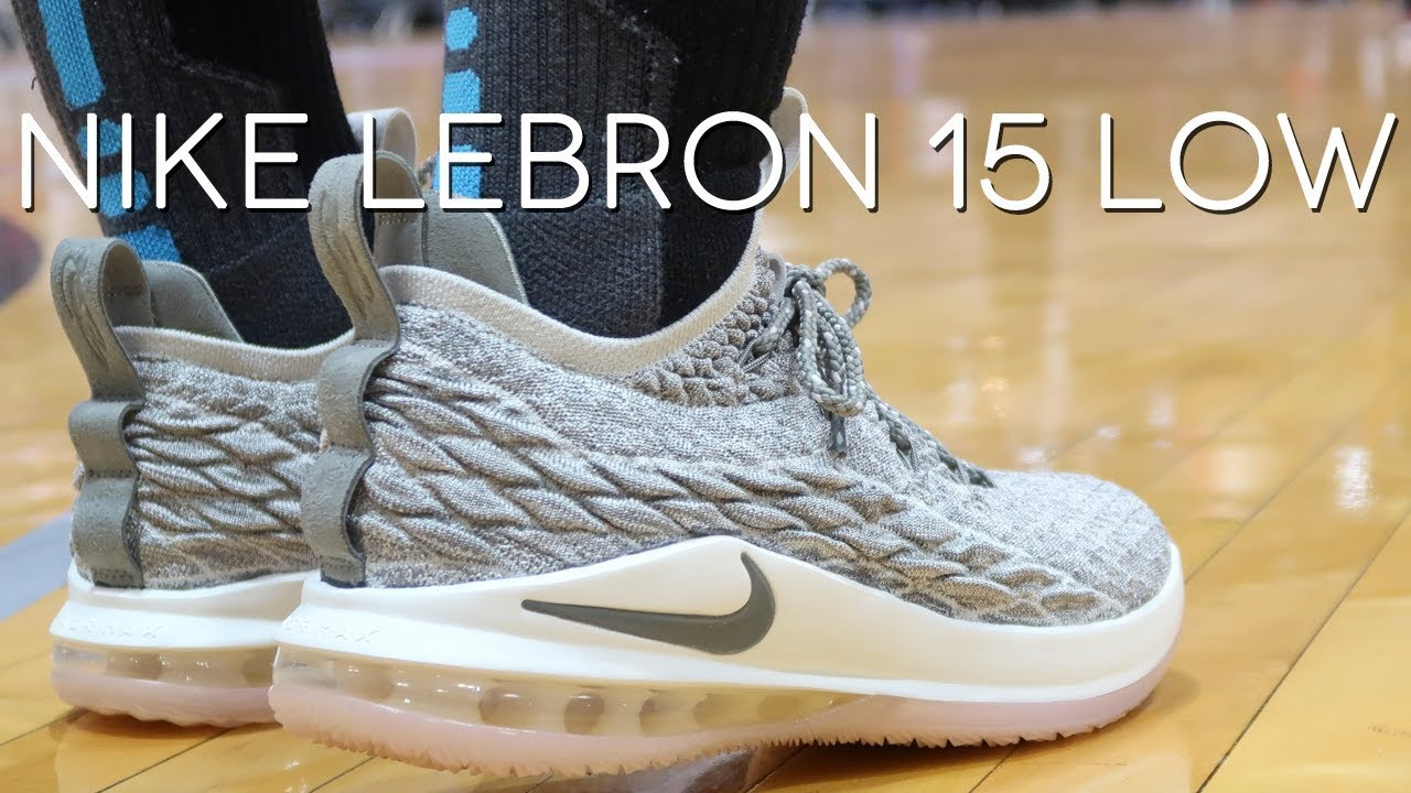 f08c6968ad556 Nike LeBron 15 Low - YouTube