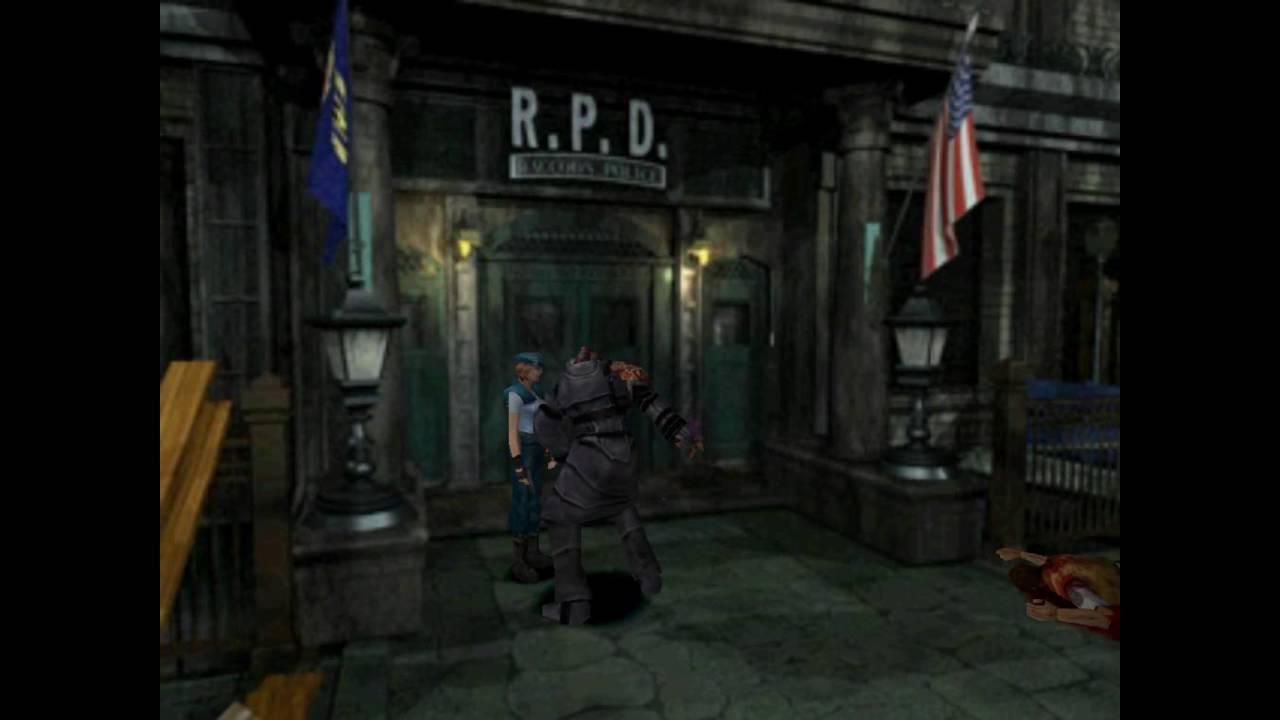 Resident Evil 3 Random Nemesis Encounter