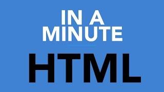 IN A MINUTE: HTML 05 - CENTER / HEADINGS