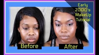 Early 2000's Inspired Makeup Tutorial-  #LIBBIONTHELABEL #LIBBUARY