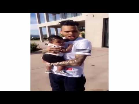 Chris Brown Dances With Teyana Taylor & Iman Shumpert's Daughter