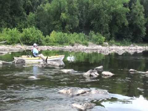 Kayak Bass Fishing - Wilderness Systems Tarpon 120 Ultralight