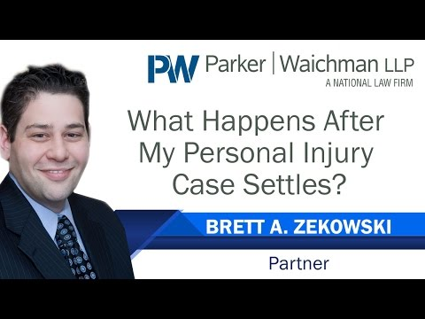 What Happens After My Personal Injury Case Settles? – NY Injury Attorney Brett Zekowski explains