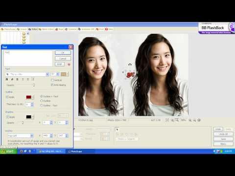 Hướng dẫn cách design ảnh bằng Photoscape