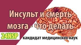 Как восстановить и лечить мозг после инсульта? ✓ Что происходит с мозгом после инсульта?