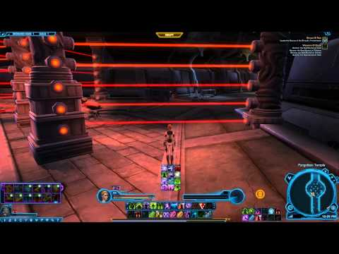SWTOR Shroud of Ruin Laser grid how to - Empire Macrobinocular missions