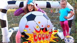 Новая история про спорт с мамой от Nastya Play