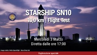 CHPDB Live! - Starship SN10 | Flight Test