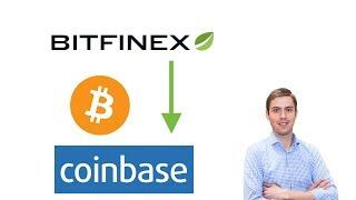 Guthaben von Bitfinex zu Coinbase schicken