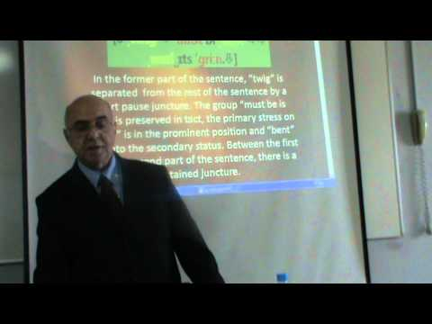 TEACHING SENTENTIAL INTONATION THROUGH PROVERBS [2] METİN YURTBAŞI, Barcelona, 4 Feb. 2012