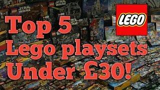 Bestlegosets under £30 - Top 5 Lego Playsets 2017  ⭐ lego star wars sets lego batman sets