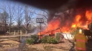 House Fire on 67 7 Feb 17