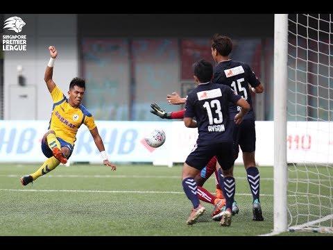 2018 Singapore Premier League: Tampines Rovers FC 4 1 Geylang International FC