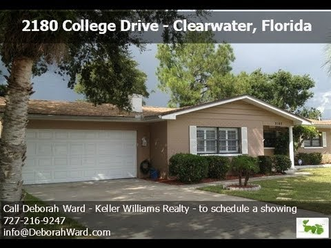 clearwater florida homes for sale 2180 college drive youtube