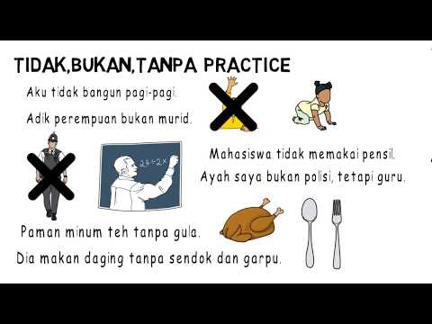 Learning Indonesian 3rd week Grammar (Learning Languages)