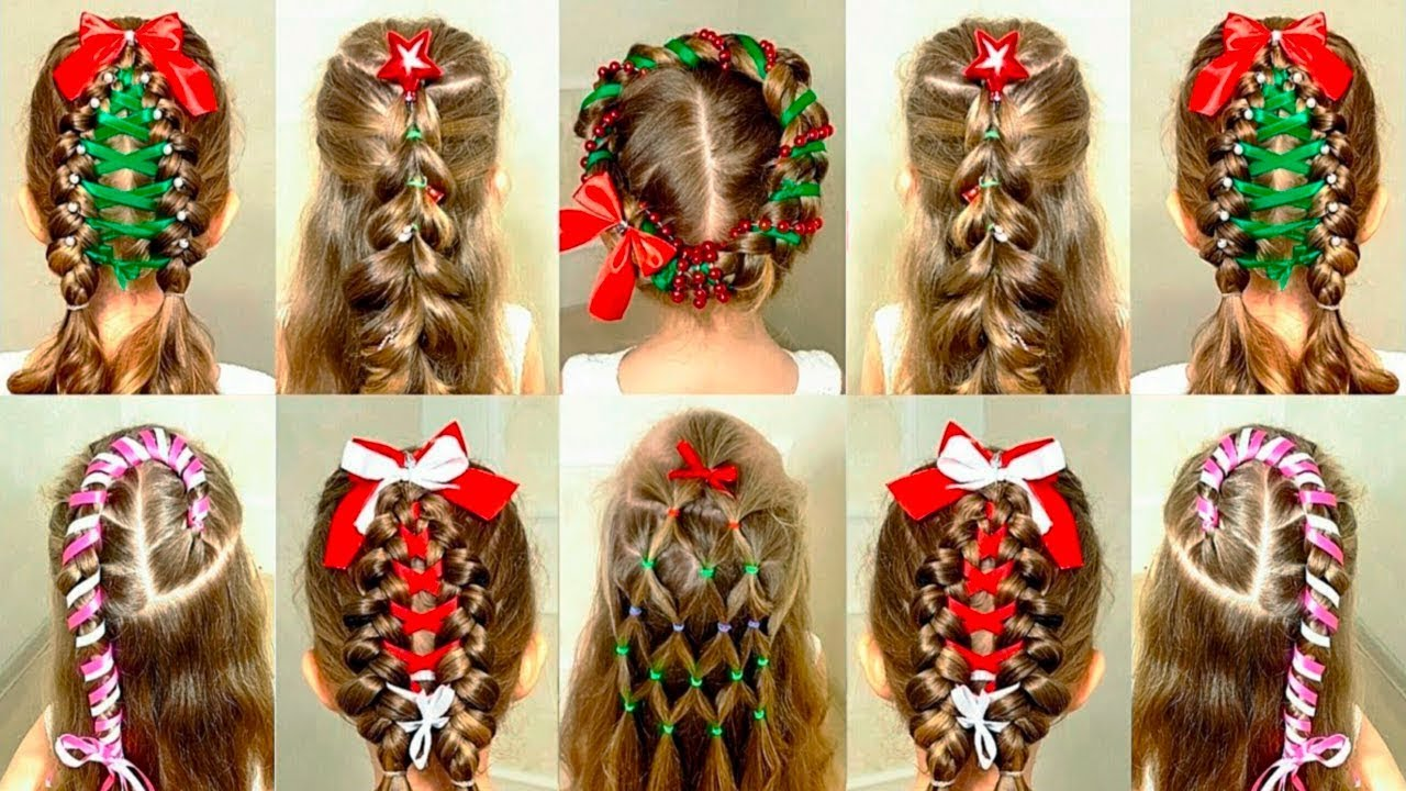 6 Christmas Hairstyles New Year S Hair