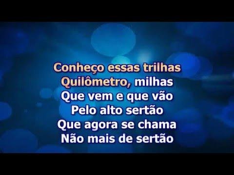 Karaoke Almir Sater Peao