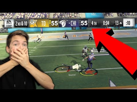 MOST INTENSE SUPER BOWL YOU'LL EVER SEE! I CAN'T BELIEVE IT! MADDEN 18 SUPER SQUAD #24