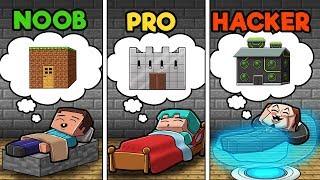 You Dream it You BUILD IT! (NOOB vs PRO vs HACKER)