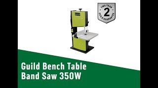 4594639 Guild Bench Table Band Saw   350W