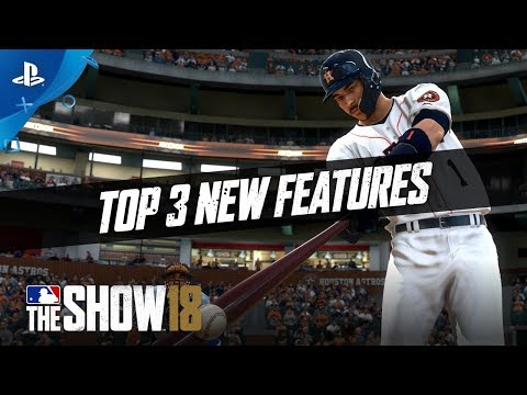 Download Youtube: MLB The Show 18 – Top 3 Additions | PS4
