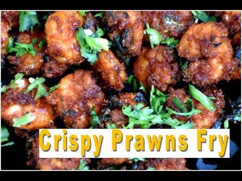 Crispy Prawns Fry / Royyala Fry