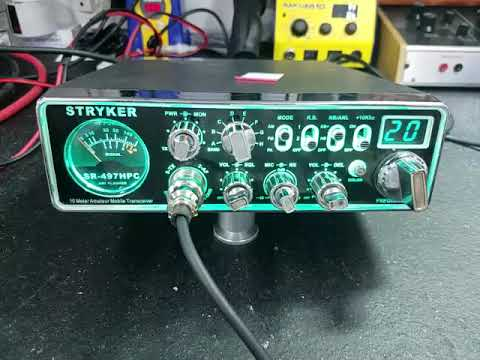 Stryker SR-497hpc tune up report for Michael in KY
