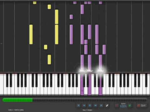 Elton John  Bennie and the Jets on Synthesia