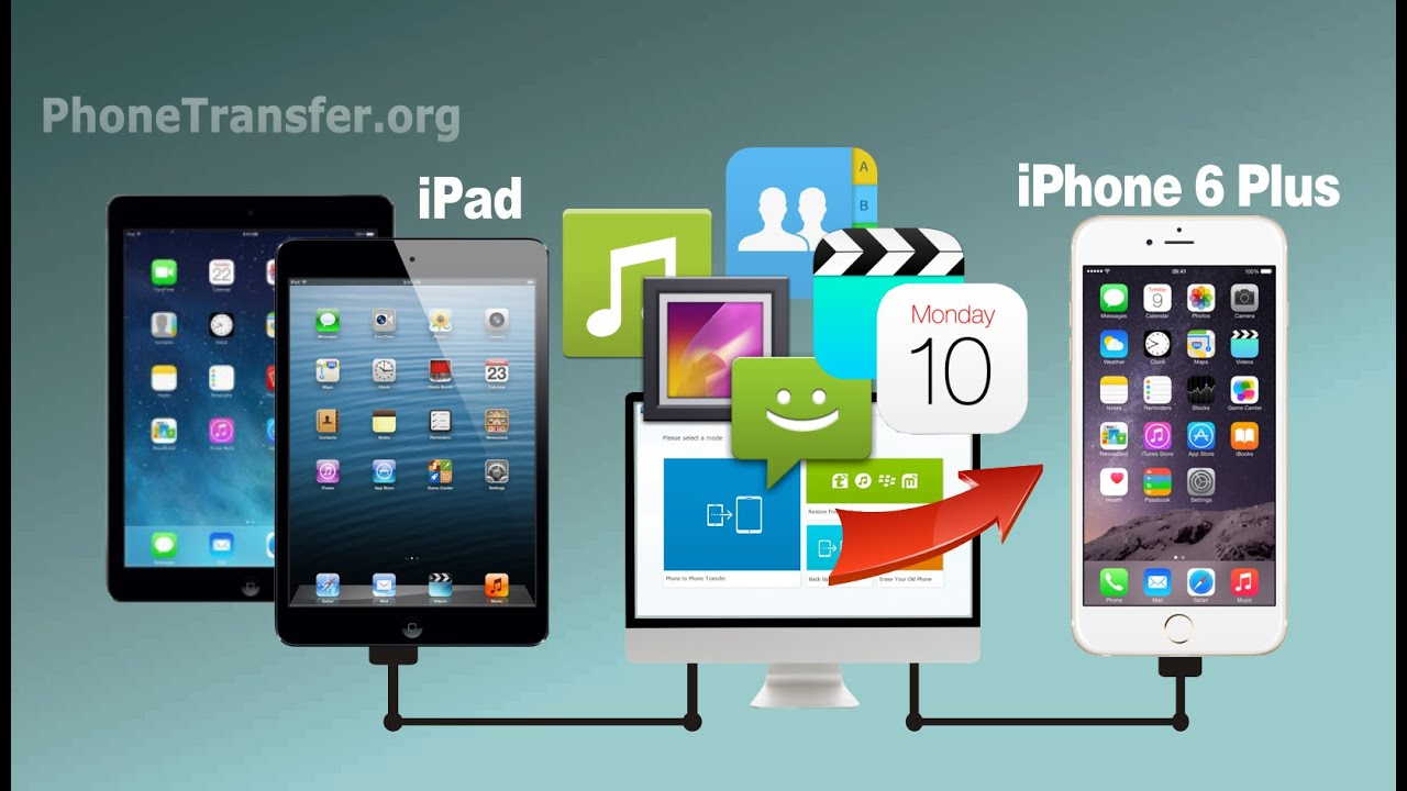 How To Transfer Videos, Photos, Music, Contacts From IPad