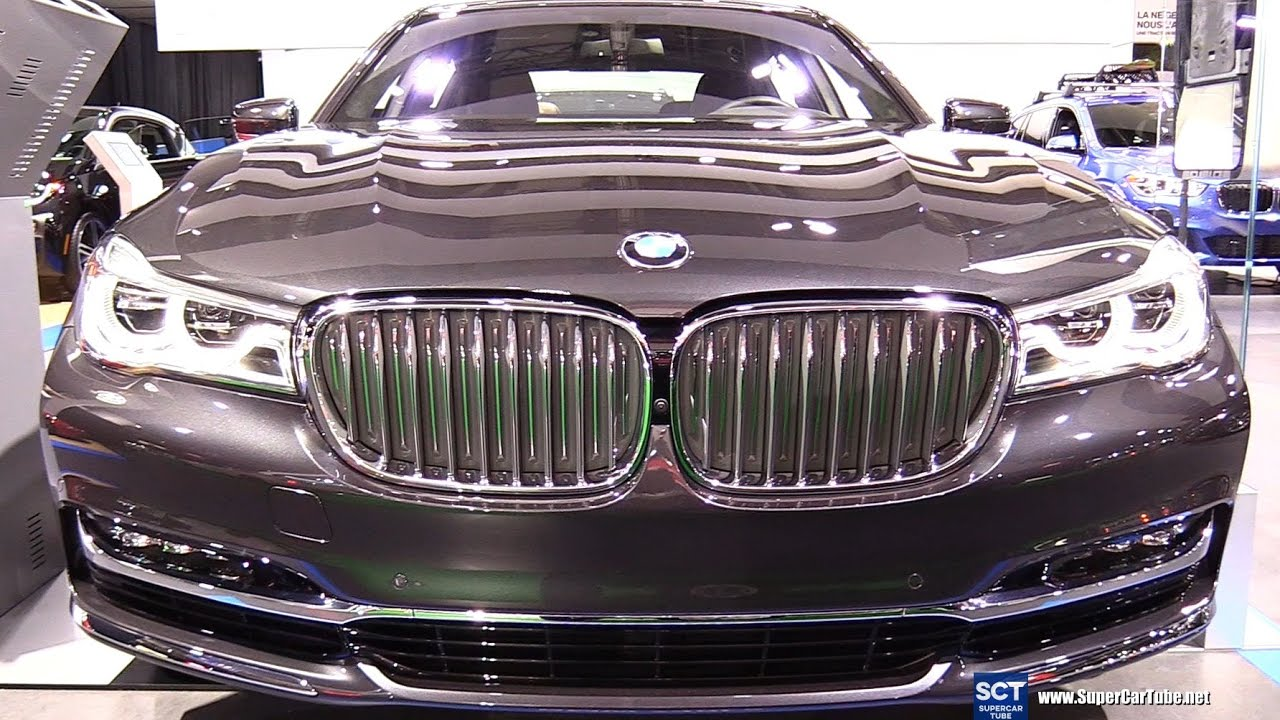 2017 bmw 7 series 740e edrive exterior and interior walkaround 2017 montreal auto show youtube. Black Bedroom Furniture Sets. Home Design Ideas
