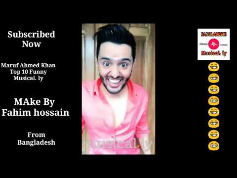 2018 New Funny Tik Tok  Video #Maruf Ahmed Khan Top 10 Funny Video