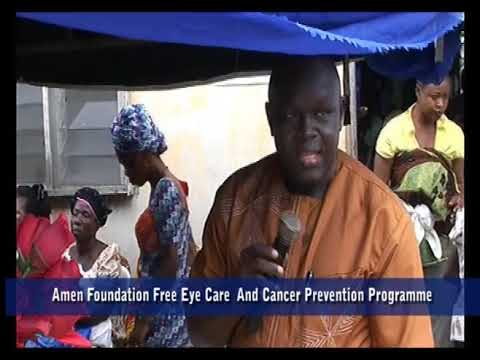 Free Eye Care and Cancer Prevention Programme in Benin