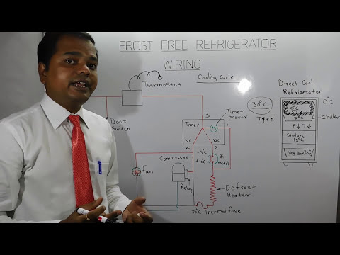 Frost Free Refrigerator Wiring in Hindiफ्रॉस्ट फ्री