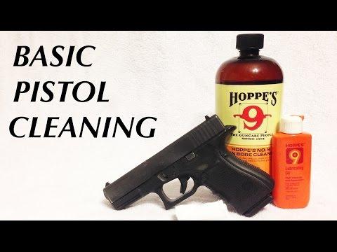 Basic Semi-Auto Pistol Cleaning